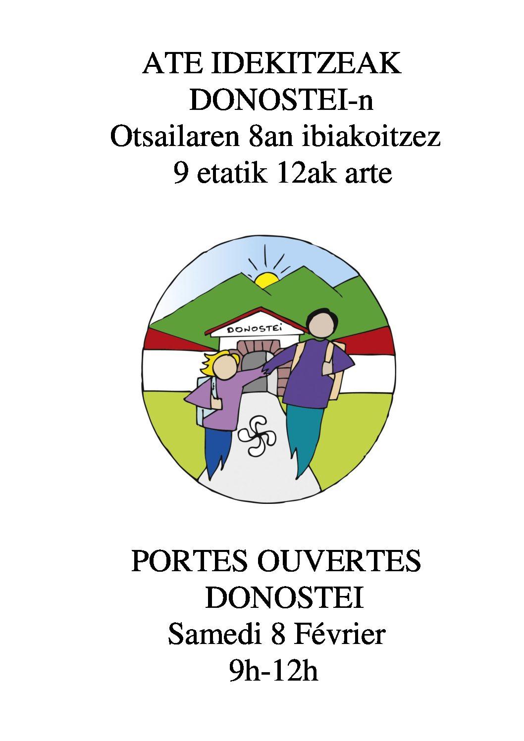 Eskolako Ate idekitzeak / Portes ouvertes de l'école