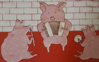 Hiru xerrikumeak / Les trois petits cochons